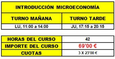 02 - INTRODUCCIÓN MICROECONOMÍA