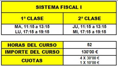 07 - SISTEMA FISCAL I