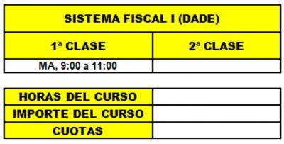 10 - SISTEMA FISCAL I (DADE)